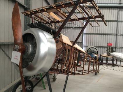 Restoration of Sopwith Camel