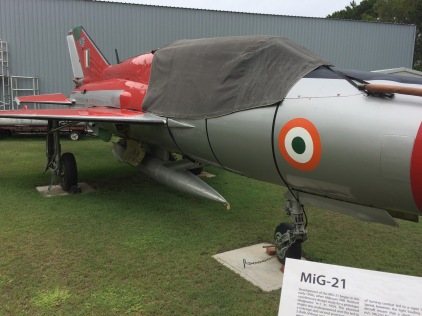 MIG-21 in IAF colours
